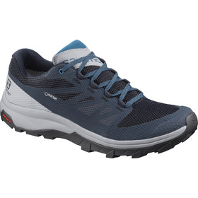 Salomon OUTline GTX Sko Herrer, navy blazer/quarry/lyons blue